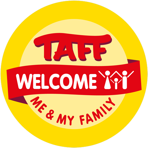 Awo Taff Welcome Logo